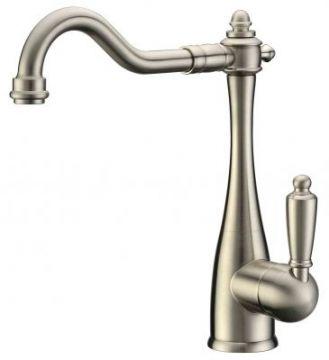 Single Handle Victorian Faucet - Brushed Nickel - JADE-2211N