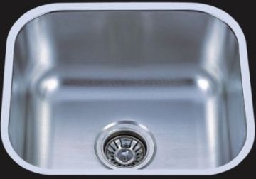"Undermount 18"" Single Bowl Stainless Steel Sink - JADE-1815"