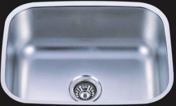 "Undermount 23"" Single Bowl Stainless Steel Sink - JADE-2318"
