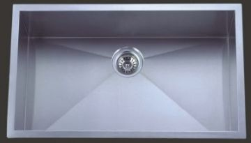 Undermount 30 Single Bowl Rectangle Stainless Steel Sink