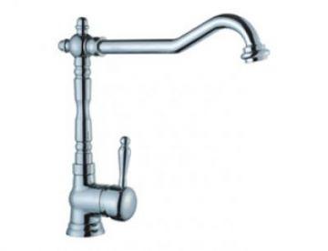 Victorian Single Handle Kitchen Faucet - JADE-1057