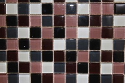 "Glass Mosaic Tiles (1"" X 1"") TMS-920"