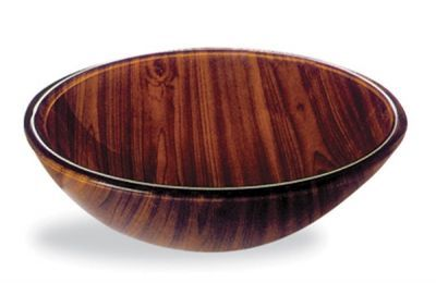 Tempered Brown Glass Basin - JADE1058