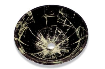 Tempered Green Glass Basin - JADE1048