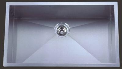 "Undermount 30"" Single Bowl Rectangle Stainless Steel Sink - JADE-RR3018C"