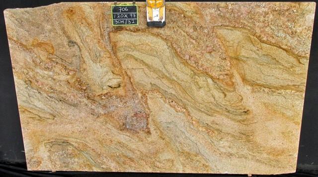 Chwalebne Imperial Gold Granite - Jade Granite & Quartz MX53